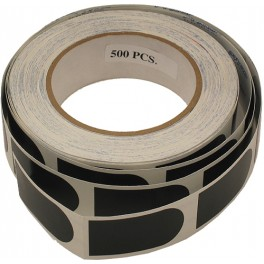 Zwarte Tape rol (100)